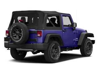 Xtreme Purple Pearlcoat 2018 Jeep Wrangler JK Pictures Wrangler JK Utility 2D Sport 4WD photos rear view