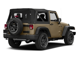 Gobi Clearcoat 2018 Jeep Wrangler JK Pictures Wrangler JK Utility 2D Sport 4WD photos rear view