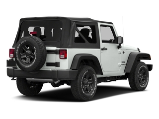Bright White Clearcoat 2018 Jeep Wrangler JK Pictures Wrangler JK Utility 2D Sport 4WD photos rear view