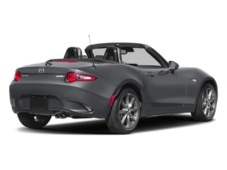 Machine Gray 2018 Mazda MX-5 Miata Pictures MX-5 Miata Grand Touring Manual photos rear view