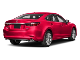 Soul Red Crystal Metallic 2018 Mazda Mazda6 Pictures Mazda6 Signature Auto photos rear view