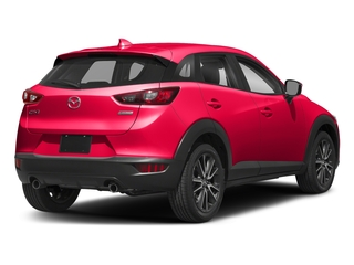 Soul Red Metallic 2018 Mazda CX-3 Pictures CX-3 Touring FWD photos rear view