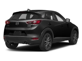 Jet Black Mica 2018 Mazda CX-3 Pictures CX-3 Touring FWD photos rear view