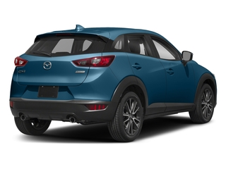Eternal Blue Mica 2018 Mazda CX-3 Pictures CX-3 Touring FWD photos rear view