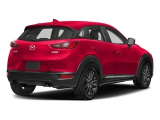 Soul Red Metallic 2018 Mazda CX-3 Pictures CX-3 Grand Touring FWD photos rear view