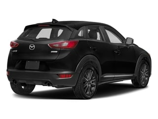 Jet Black Mica 2018 Mazda CX-3 Pictures CX-3 Grand Touring FWD photos rear view
