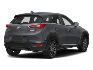 Machine Gray Metallic 2018 Mazda CX-3 Pictures CX-3 Grand Touring FWD photos rear view