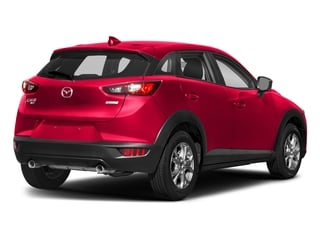 Soul Red Metallic 2018 Mazda CX-3 Pictures CX-3 Sport AWD photos rear view