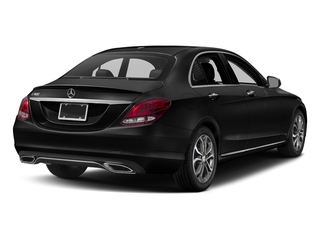 Obsidian Black Metallic 2018 Mercedes-Benz C-Class Pictures C-Class C 300 Sedan photos rear view