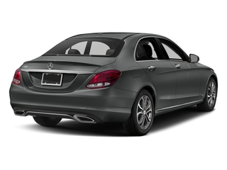 Selenite Grey Metallic 2018 Mercedes-Benz C-Class Pictures C-Class C 300 Sedan photos rear view