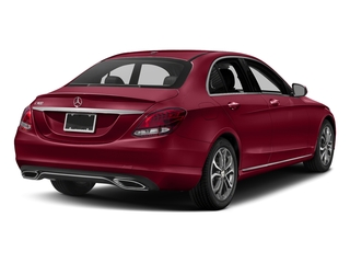 designo Cardinal Red Metallic 2018 Mercedes-Benz C-Class Pictures C-Class C 300 Sedan photos rear view