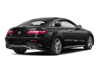 Black 2018 Mercedes-Benz E-Class Pictures E-Class E 400 4MATIC Coupe photos rear view