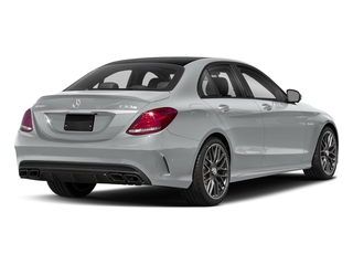 Iridium Silver Metallic 2018 Mercedes-Benz C-Class Pictures C-Class AMG C 63 S Sedan photos rear view