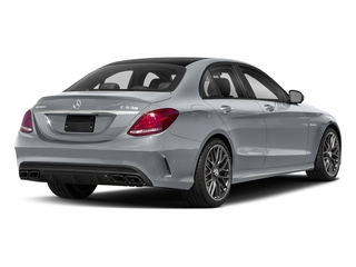 Diamond Silver Metallic 2018 Mercedes-Benz C-Class Pictures C-Class AMG C 63 S Sedan photos rear view