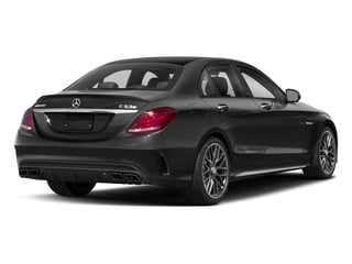 Selenite Grey Metallic 2018 Mercedes-Benz C-Class Pictures C-Class AMG C 63 S Sedan photos rear view