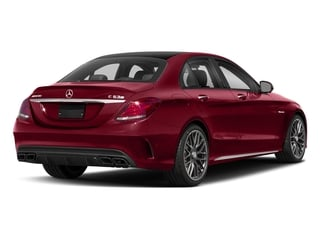 designo Cardinal Red Metallic 2018 Mercedes-Benz C-Class Pictures C-Class AMG C 63 S Sedan photos rear view