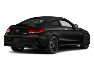 Obsidian Black Metallic 2018 Mercedes-Benz C-Class Pictures C-Class AMG C 63 S Coupe photos rear view