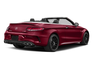 designo Cardinal Red Metallic 2018 Mercedes-Benz C-Class Pictures C-Class AMG C 63 Cabriolet photos rear view