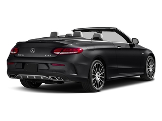 Black 2018 Mercedes-Benz C-Class Pictures C-Class Convertible 2D C43 AMG AWD V6 Turbo photos rear view