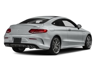 Iridium Silver Metallic 2018 Mercedes-Benz C-Class Pictures C-Class AMG C 43 4MATIC Coupe photos rear view
