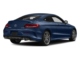 Brilliant Blue Metallic 2018 Mercedes-Benz C-Class Pictures C-Class Coupe 2D C43 AMG AWD V6 Turbo photos rear view