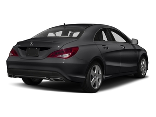 Night Black 2018 Mercedes-Benz CLA Pictures CLA CLA 250 4MATIC Coupe photos rear view
