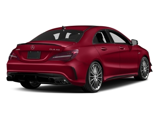 Jupiter Red 2018 Mercedes-Benz CLA Pictures CLA AMG CLA 45 4MATIC Coupe photos rear view