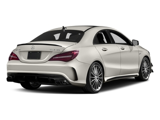 Cirrus White 2018 Mercedes-Benz CLA Pictures CLA AMG CLA 45 4MATIC Coupe photos rear view