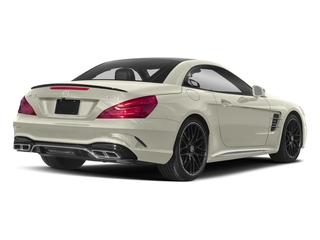 Polar White 2018 Mercedes-Benz SL Pictures SL 2 Door Roadster photos rear view