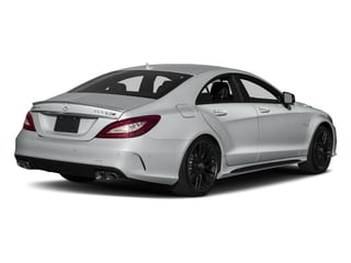 Iridium Silver Metallic 2018 Mercedes-Benz CLS Pictures CLS AMG CLS 63 S 4MATIC Coupe photos rear view