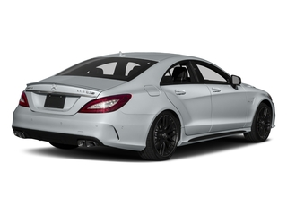 Diamond Silver Metallic 2018 Mercedes-Benz CLS Pictures CLS AMG CLS 63 S 4MATIC Coupe photos rear view
