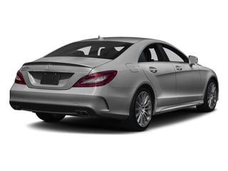 designo Magno Alanite Grey (Matte Finish) 2018 Mercedes-Benz CLS Pictures CLS CLS 550 4MATIC Coupe photos rear view