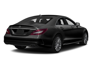 Obsidian Black Metallic 2018 Mercedes-Benz CLS Pictures CLS CLS 550 4MATIC Coupe photos rear view