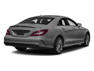 designo Magno Selenite Grey (Matte Finish) 2018 Mercedes-Benz CLS Pictures CLS CLS 550 4MATIC Coupe photos rear view
