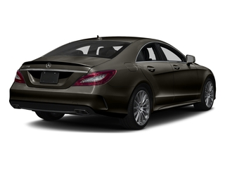 Dakota Brown Metallic 2018 Mercedes-Benz CLS Pictures CLS CLS 550 4MATIC Coupe photos rear view