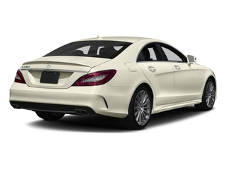 designo Diamond White Metallic 2018 Mercedes-Benz CLS Pictures CLS CLS 550 4MATIC Coupe photos rear view