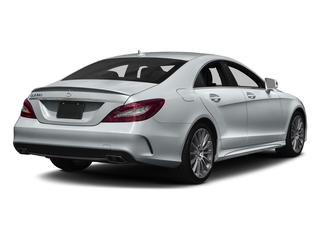Diamond Silver Metallic 2018 Mercedes-Benz CLS Pictures CLS CLS 550 4MATIC Coupe photos rear view