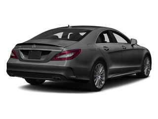 Selenite Grey Metallic 2018 Mercedes-Benz CLS Pictures CLS CLS 550 4MATIC Coupe photos rear view