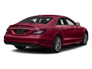 designo Cardinal Red Metallic 2018 Mercedes-Benz CLS Pictures CLS CLS 550 4MATIC Coupe photos rear view