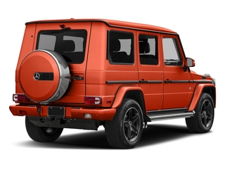 designo Manufaktur Orange Metallic 2018 Mercedes-Benz G-Class Pictures G-Class 4 Door Utility 4Matic photos rear view