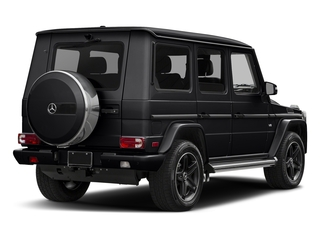 Black 2018 Mercedes-Benz G-Class Pictures G-Class G 550 4MATIC SUV photos rear view