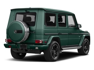 designo Manufaktur Agate Green 2018 Mercedes-Benz G-Class Pictures G-Class G 550 4MATIC SUV photos rear view