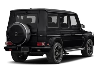Black 2018 Mercedes-Benz G-Class Pictures G-Class AMG G 63 4MATIC SUV photos rear view