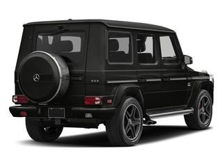 designo Night Black Magno 2018 Mercedes-Benz G-Class Pictures G-Class AMG G 63 4MATIC SUV photos rear view