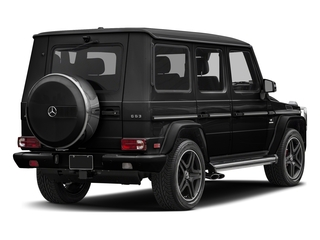 Obsidian Black Metallic 2018 Mercedes-Benz G-Class Pictures G-Class AMG G 63 4MATIC SUV photos rear view