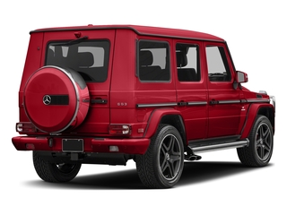designo Manufaktur Magma Red 2018 Mercedes-Benz G-Class Pictures G-Class AMG G 63 4MATIC SUV photos rear view