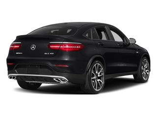 Black 2018 Mercedes-Benz GLC Pictures GLC AMG GLC 43 4MATIC Coupe photos rear view