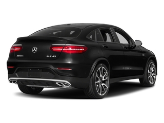 Obsidian Black Metallic 2018 Mercedes-Benz GLC Pictures GLC AMG GLC 43 4MATIC Coupe photos rear view