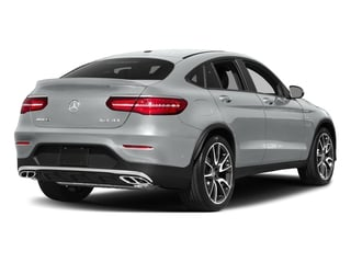 Iridium Silver Metallic 2018 Mercedes-Benz GLC Pictures GLC AMG GLC 43 4MATIC Coupe photos rear view