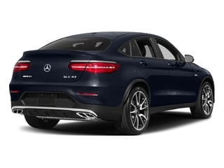 Lunar Blue Metallic 2018 Mercedes-Benz GLC Pictures GLC AMG GLC 43 4MATIC Coupe photos rear view